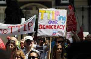 TTIP photo to be acccredited to Global Justice Now