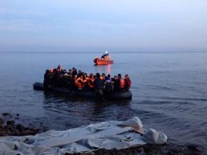 lesvos migrant crisis december 2015