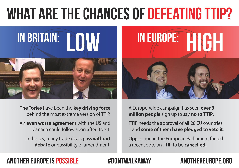 TTIP leaflet