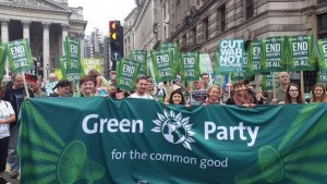green party people assembly march