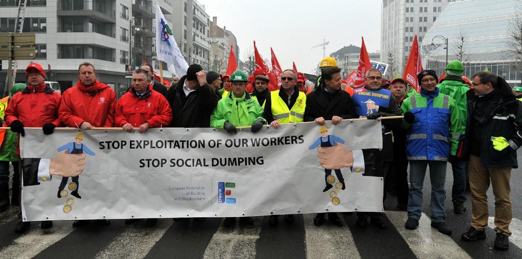 stop social dumping