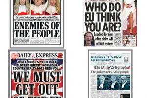 This is what we're up against. What will they do when the racism they have whipped up starts targeting newspaper editors, not judges?